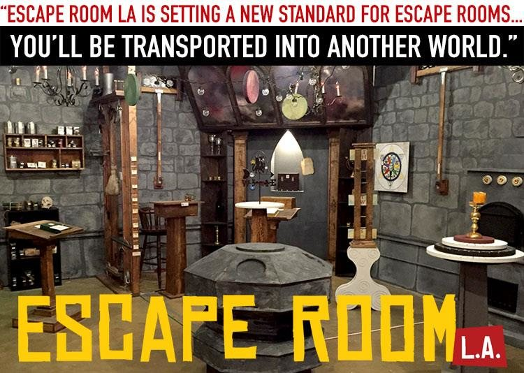 Escape Room La California Haunted Houses