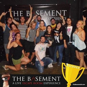 The Basement Live Escape Room California Haunted Houses