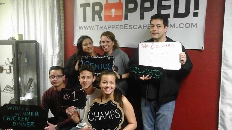 Trapped Escape Room Upland Ca