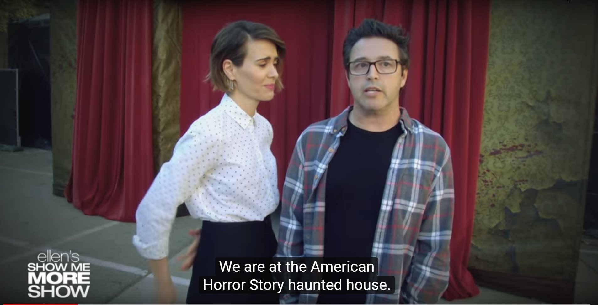 pictures Ellens Annual Halloween Haunted House Video Is Here—and Its the Best One Yet