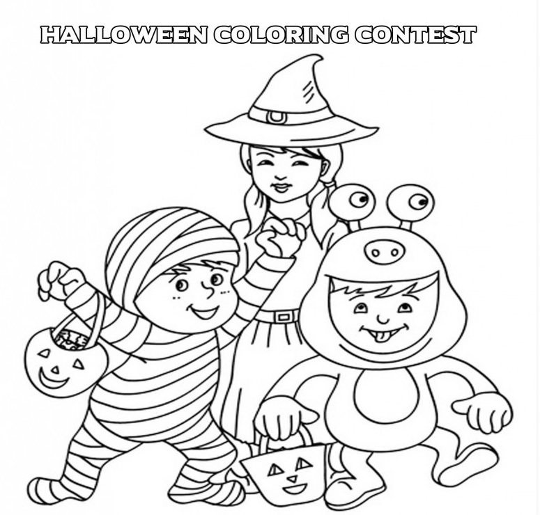 Temecula Halloween Coloring Contest for Kids