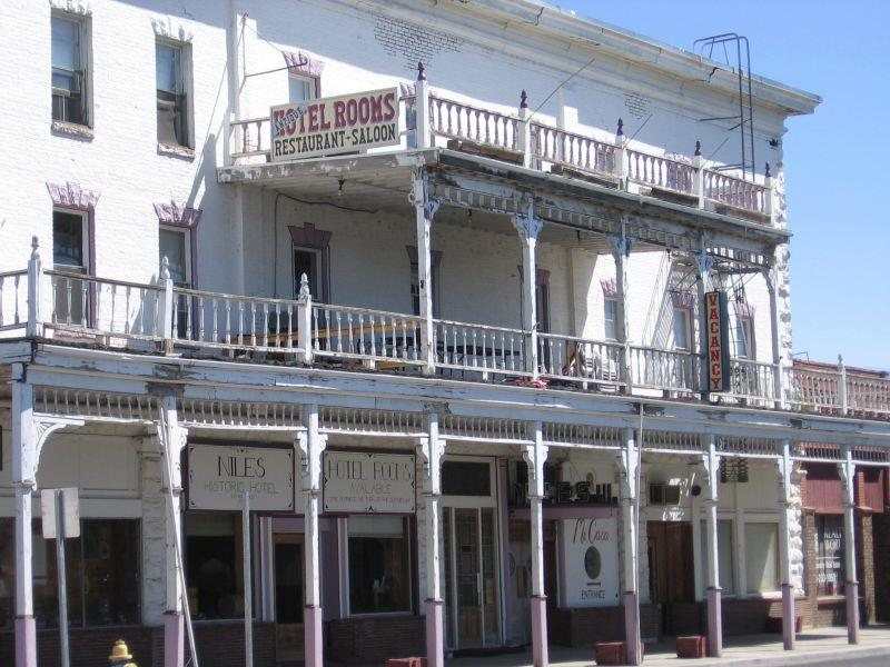 Hotel Niles Alturas California Real Haunted Place