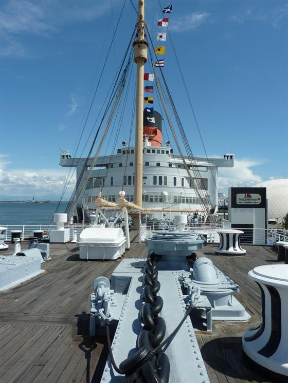 Queen Mary Engine Room: Long Beach California