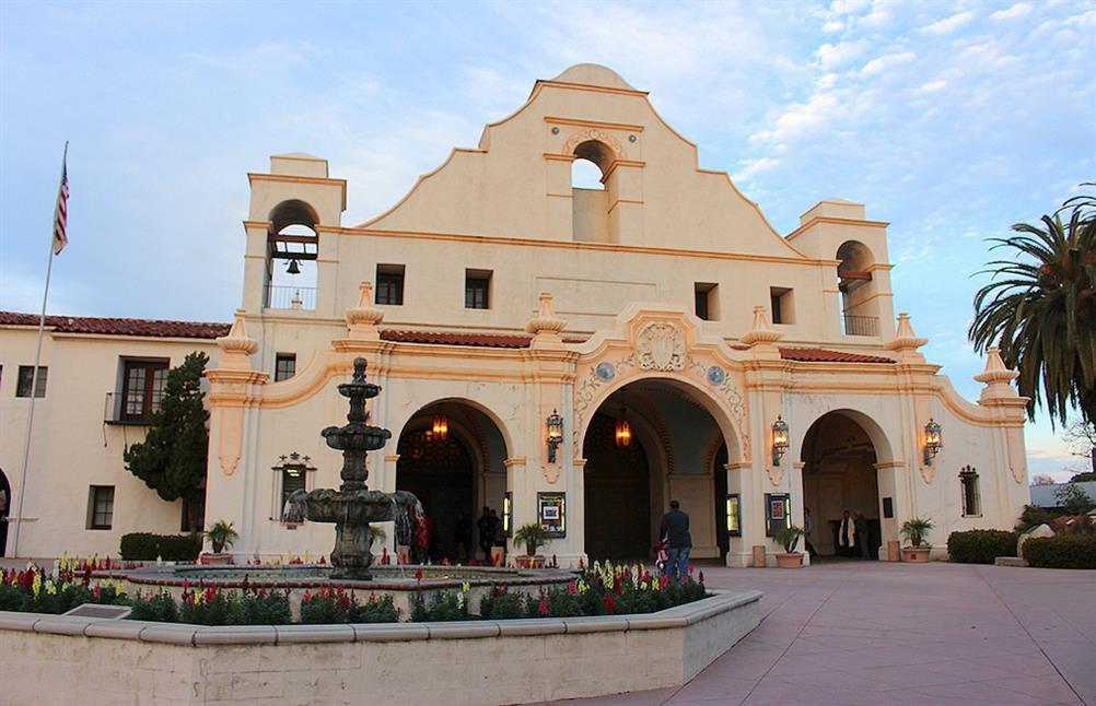 San Gabriel Mission Playhouse San Gabriel California
